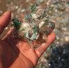 Plastic bottles shredder in plastic bottles recycling