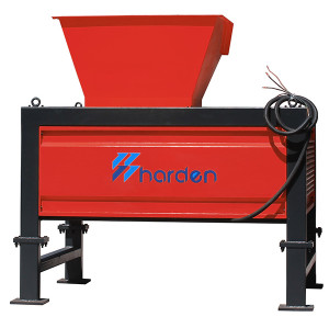 Harden®Two Shaft Shredder for Shredding Plastic WEEE Organic Biomass Medical Waste TS505