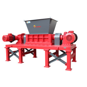 Harden®Two Shaft Solid Waste Shredder for Iron sheet Steel tile Aluminum sheet Organic Waste shredder TD612