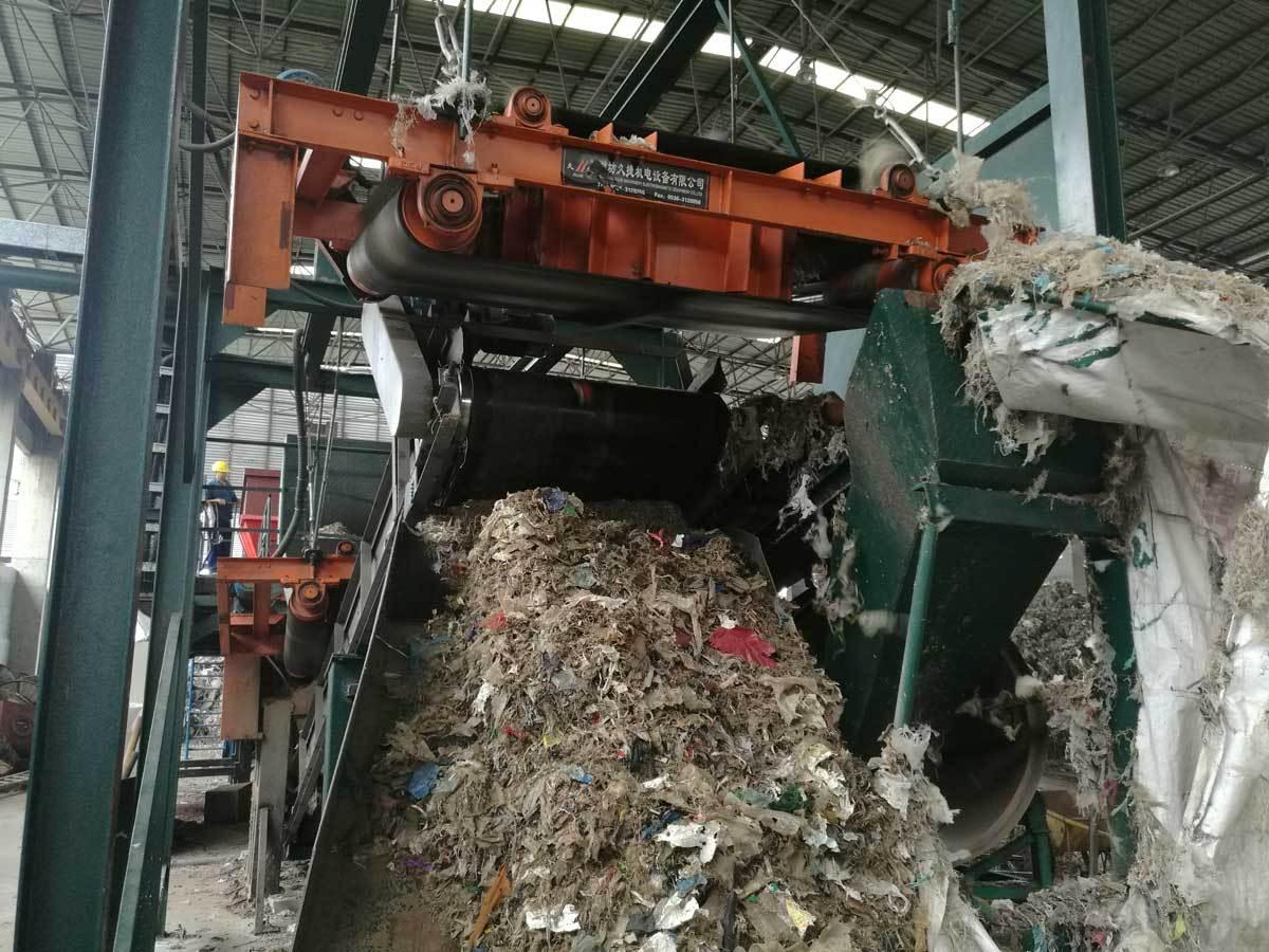 pulper reject shredding