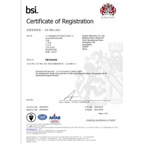 Quality Management ISO9001:2015