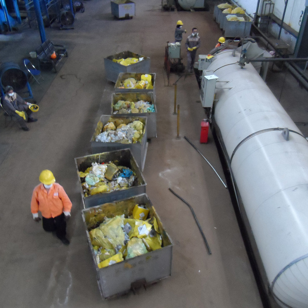 hospital waste disposal