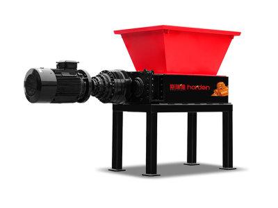 Harden® Шредер с двойным валом - Серия TS (одиночный привод) - для средних нагрузок
