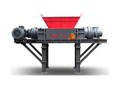 Harden® Измельчитель с двойным валом- Серия TD - (Двойной привод) - Тяжелые условия