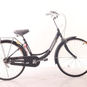 Super-classy vintage model 24 inch city bike for lady