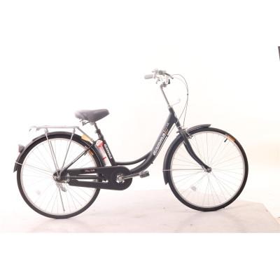 Super-classy vintage model 24 inch city bike for lady