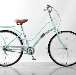 simple beauty city bike comfortable ride bicycle