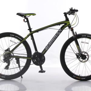 Ölscheibe 24-Gang Aluminiumrahmen Federgabel MTB Fahrrad