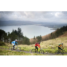 Mountain bike routes in UK