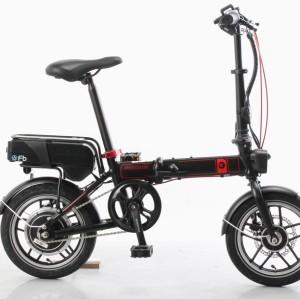 Vélo électrique pliant 14 pouces 48V 300W