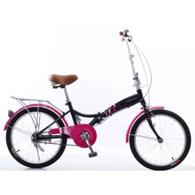 20 inch  aluminum steel frame folding bike and made in China factory