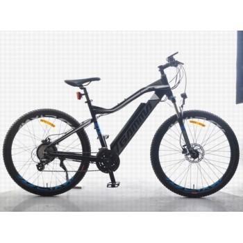 Frein à disque de moteur de moyeu arrière de vélo électrique de montagne de 27,5 pouces en aluminium 36V 300W