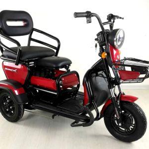 Dreirad elektrisches Dreirad benutzt für Passagiere