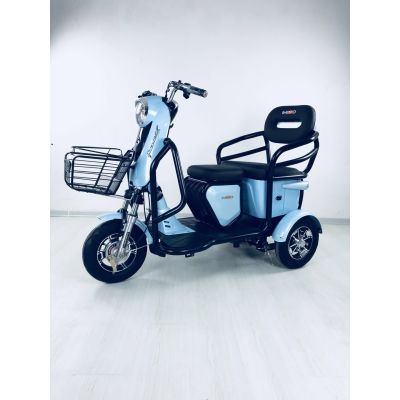 Disabled Adults Passenger 3 Wheel Electric Tricycle 48V 500W