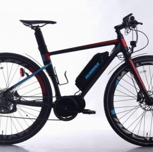 700C  Electric bike Aluminum Frame and fork 36V 250W 10.4AH lithium battery