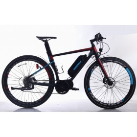 700C  Electric bike Aluminum Frame and fork 36V 250W 10.4AH lithium battery