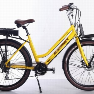26 Electric city bike for Lady  36V  10.4AH  350W