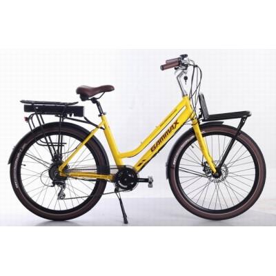 26 Electric city bike for Lady  36V  10.4AH  350W