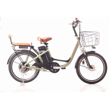 22 inch Electric city bike for Lady  48V  12AH 250W