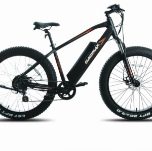 26*4.0 Fat Electric Bike Aluminium Frame /Suspension Fork/Disc Brake/750W 48V 10.6Ah