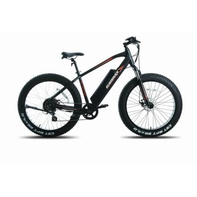 26*4.0 Fat Electric Bike Aluminium Frame /Suspension Fork/Disc Brake/750W 48V 10.6Ah