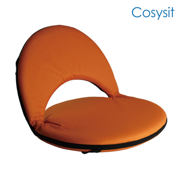 Cosysit stadium floor seating chair with back support
