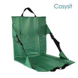 CosySit Cojín de asiento para silla de estadio resistente Alfombra de playa con correas adicionales