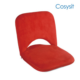 Cosysit red square room floor chair, saudi arabia fabric
