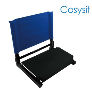 CosySit  Reclining chair with back bleacher chair