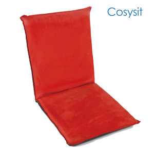 CosySit Festive Chinese Red floor chair sofa bed