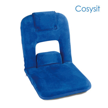 Cosysit Suede blue folding chair