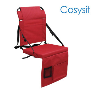 Cosysit Stadium cadeira dobrável com bolso lateral