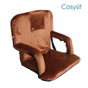Cosyit Foldable floor chair with armrest