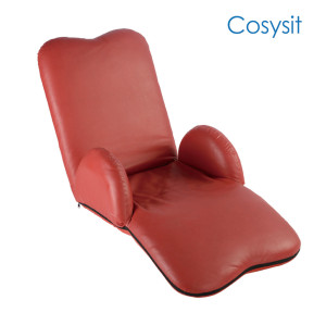Cosysit lovely Floor Sofa chaise Lounge with heart shaped armrest