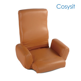 Cosysit PU leather floor chair