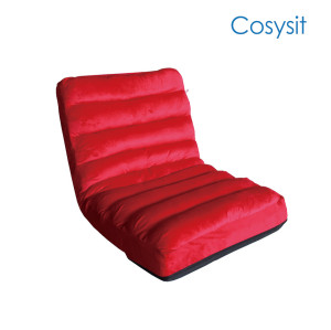 Cosysit Living Room stripe sofá individual sofá plegable silla de piso