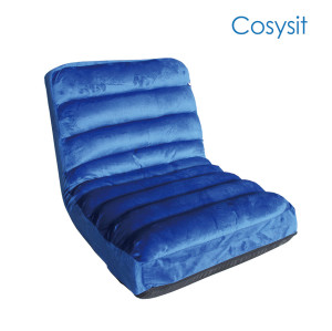 Cosysit Living Room stripe single sofa folding sofa floor chair