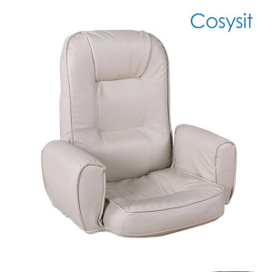 Cosysit ajustable de cuatro colores silla de sofá reclinable opcional piso asiento