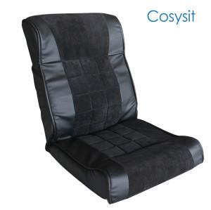 Silla de sofá de tela Cosysit PU Leather & Corduroy