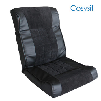 Cosysit PU leather&corduroy fabric floor sofa chair