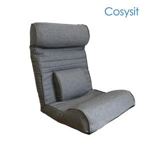 Folding legless lazy sofa meditation chair japanese style floor chair with waist support