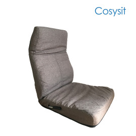 Cosysit indoor floor chair with adjustable back