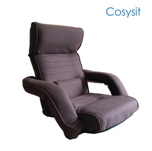 Cosysit Japanese floor sofa chair with armrest