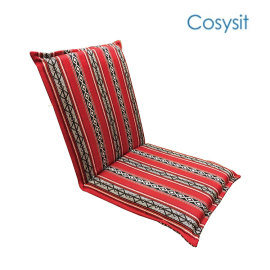 CosySit saudi fabric indoor gaming padded folding chair leg floor protector
