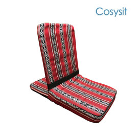 CosySit saudi fabric floor protection seating chair backrest