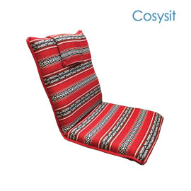 CosySit saudi fabric foldign floor legless chair recliner