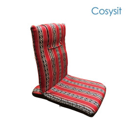 CosySit saudi fabric foam kids gaming back support floor chair