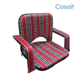 CosySit saudi fabric legless floor sitting chair with armrest for gaming