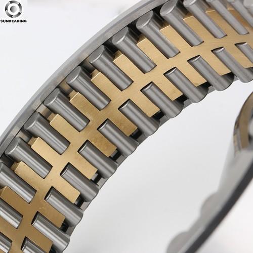 SUNBEARING Rodamiento de rodillos cilíndricos FC6084218 Plata 300 * 420 * 218 mm Acero al cromo GCR15