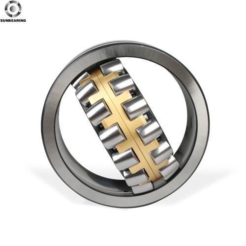 SUNBEARING Rodamiento de rodillos esféricos 24144CA Plata 220 * 370 * 150 mm Acero al cromo GCR15